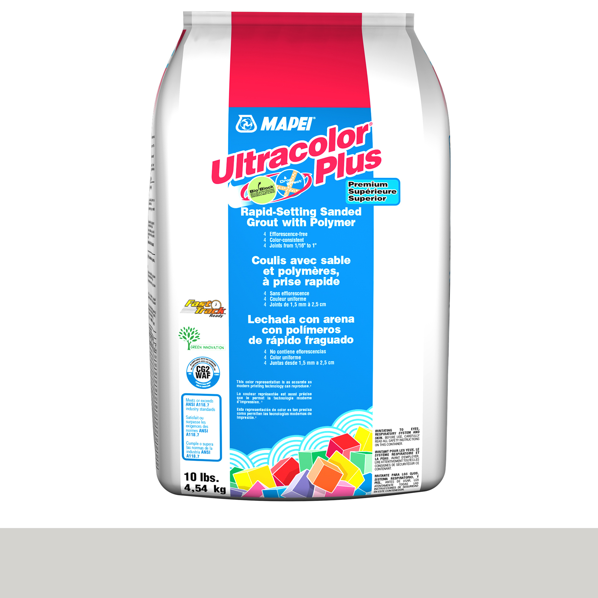 Mapei Ultracolor Plus Fa 93-Warm Grey 10-Lb Bag Grout Sanded product photo