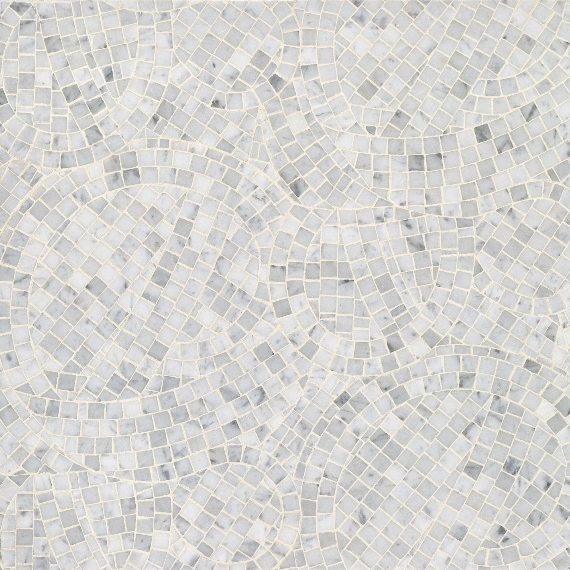 Whirlwind Bianco Carrara Marble Swatch Card  Polished Samples product photo